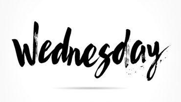 Just Wednesday: September 20, 2017