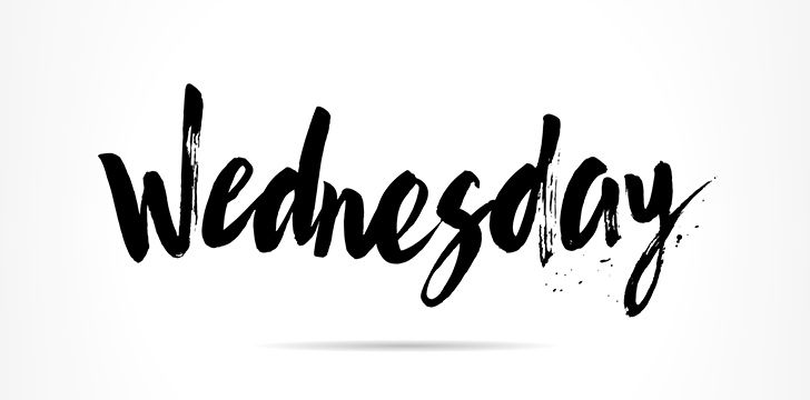 Just Wednesday: September 20, 2017